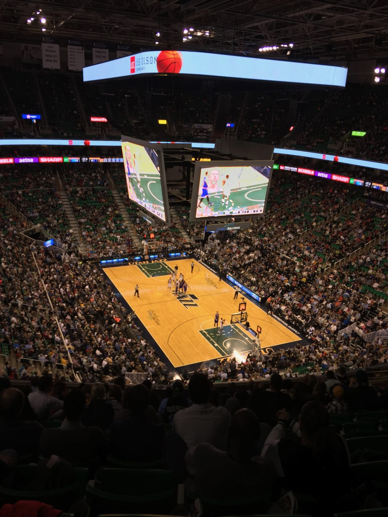 Utah Jazz (EnergySolutions Arena)